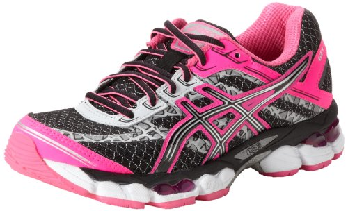 asics women 39 s gel cumulus 15 lite show running shoe black onyx flash pink 7 5 m us top fashion web. Black Bedroom Furniture Sets. Home Design Ideas