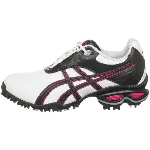 asics s gel linksmaster golf shoe white raspberry