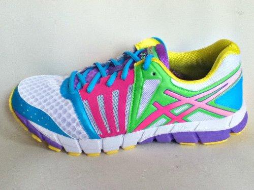 Asics Gel Lyte33 2 White Berry Rainbow Athletic Shoes