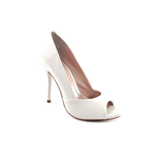 BCBGeneration-Izzie2-Womens-Size-8-White-Leather-Pumps-Heels-Shoes-0