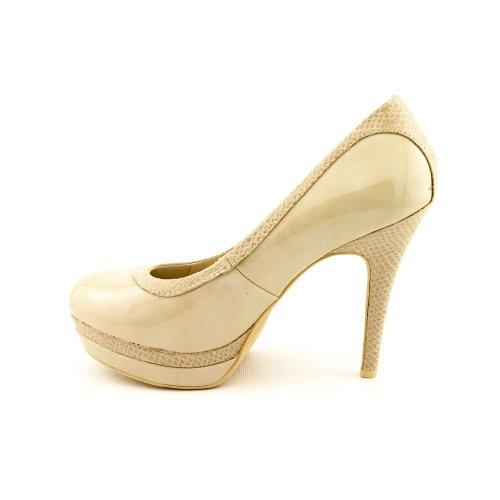 Baby Phat 0313msu646 Beige Heels Pumps Women Shoes 7 5