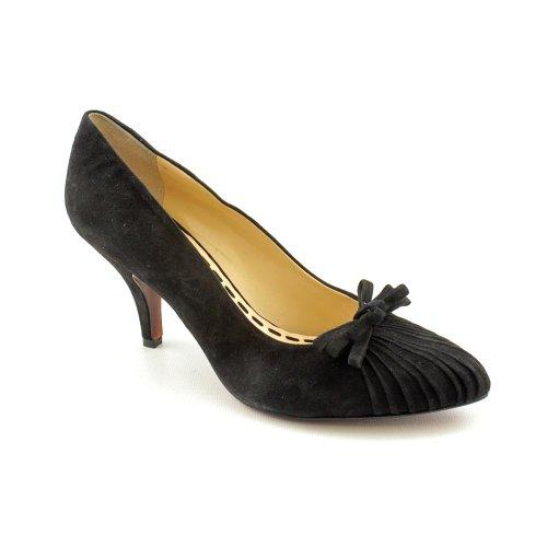 enzo angiolini sorte womens size 5 5 black suede pumps