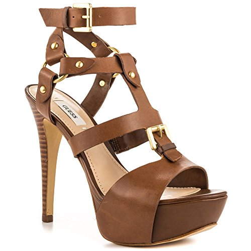 Guess Women S Ormandi Platform Gladiator Sandals Medium