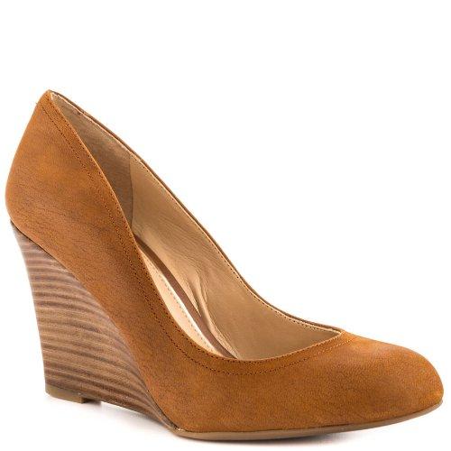 Jessica-Simpson-Womens-Capri-Wedge-Pumps-Dress-Shoes-Brown-Size-10-0