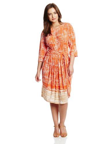 Jones New York Women S Plus Size Jersey Print Front Tie