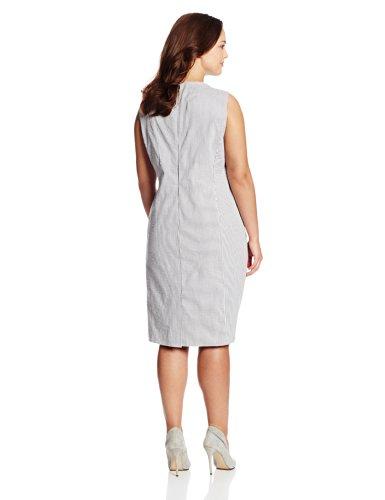 New york womens plus size mallory sheath dress blackwhite 20w 0 0