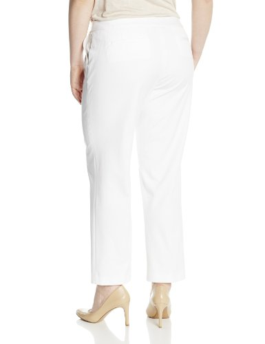 Jones New York Women S Plus Size The Jordan Pant White