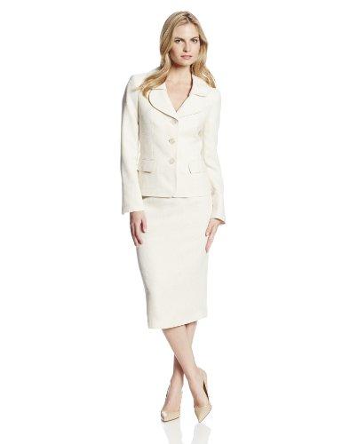 Le Suit Womens Suit Skirt Set