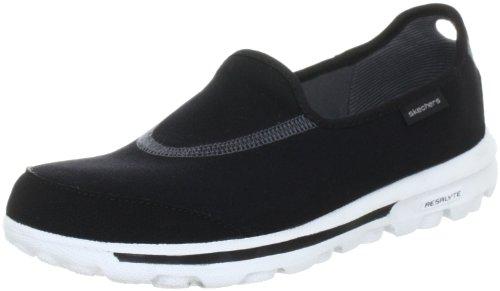 Skechers Go Walk Womens Lightweight Shoes Wide Width Black