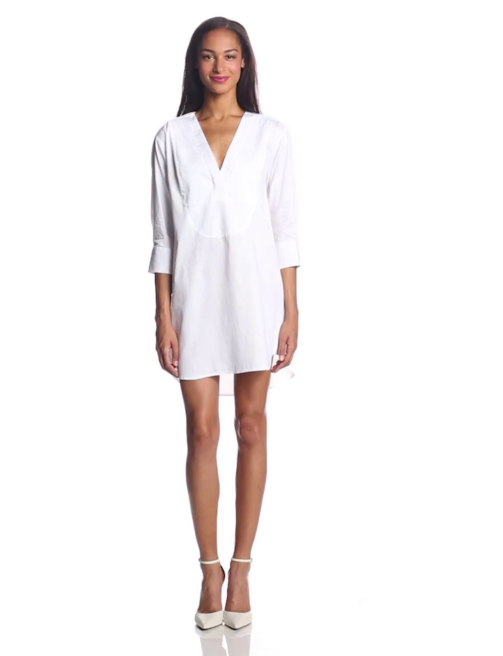 Bcbgmaxazria women 39 s braelyn long sleeve shirt dress Women s long sleeve shirt dress