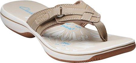 clarks women's breeze sea flip flops
