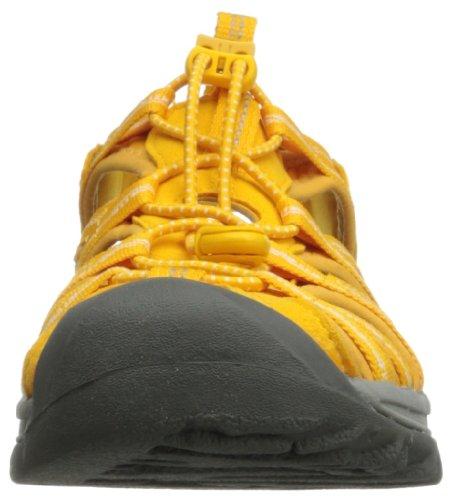 Keen Women S Whisper Sandal Gold Fusion Gold Yellow 8 M Us