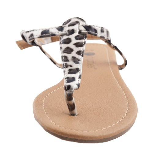 Lastest  Russo Womens Leopardprint Calf Hair And Patentleather Sandals