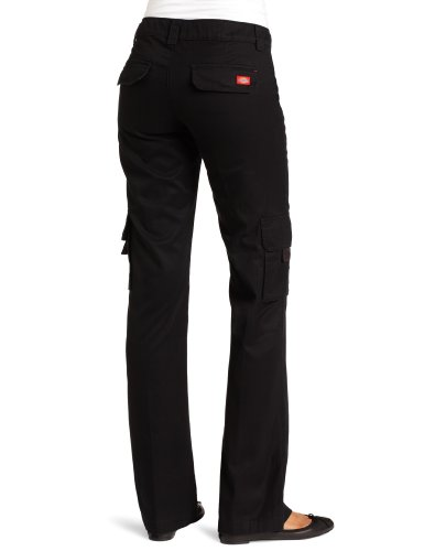 Dickies Women S Relaxed Cargo Pant Black 12 Top Fashion Web