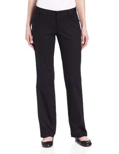 Dickies Womens Relaxed Straight Stretch Twill Pant, Black ...