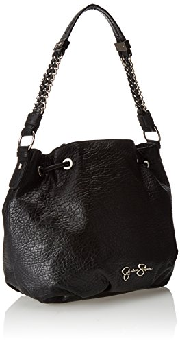 Jessica Simpson Lulu Drawstring Shoulder Bag Black One