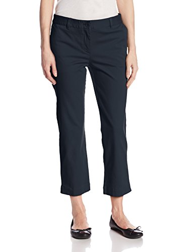 Jones New York Women S Cropped Easy Pant Navy 10 Top