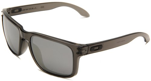 Oakley Mens Holbrook Oo9102 24 Iridium Sunglasses Grey