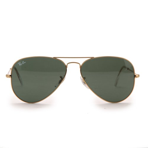 Ray-Ban RB3025 Aviator Large Metal Non-Polarized ...