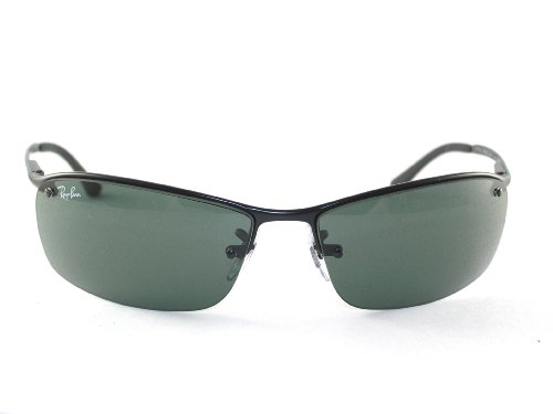 7eafc9d45c Ray Ban Rb3183 Sunglasses 63 Mm Non Polarized Black Grey And Green ...