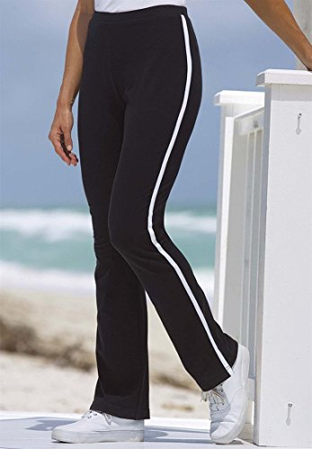 Women S Plus Size Petite Stretch Yoga Pants With Side