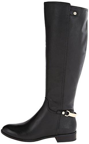 Ak Anne Klein Women S Kacey Leather Riding Boot Black 10