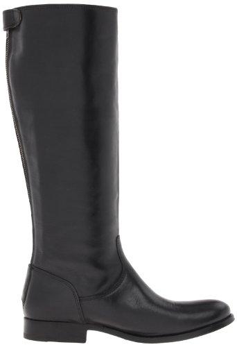 Frye Women S Melissa Button Back Zip Boot Black Wide Calf
