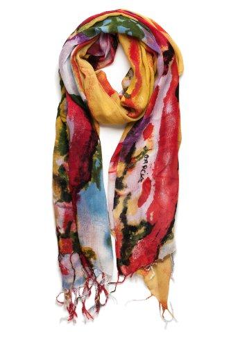 garcia artwear feeding in the light jerry garcia scarf
