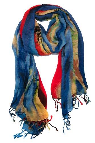 garcia artwear wetlands i jerry garcia scarf original