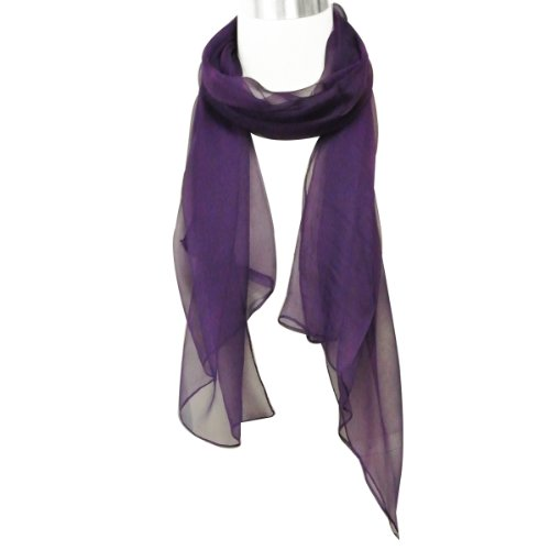 wrapables solid color 100 silk scarf majestic