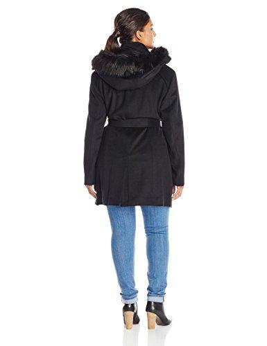 0c2fd646c6b Calvin Klein Women s Plus-Size Lux Wool Coat with Faux Fur Trim