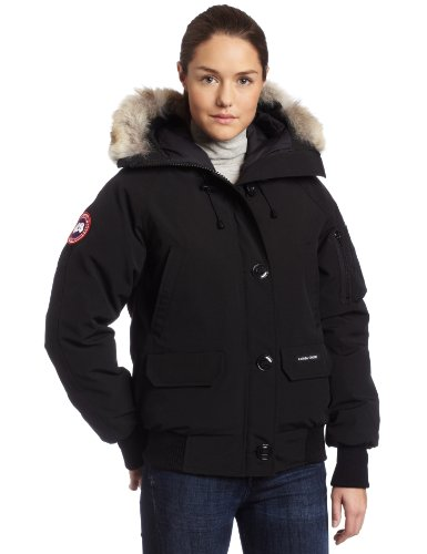 3071cb4bb Canada Goose Ladies Chilliwack Bomber Jacket (Black, Medium) - Top Fashion  Web