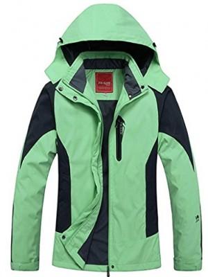 Cloudy-Walker-Womens-Waterproof-Mountain-Jacket-Fleece-Windproof-Ski-JacketGreenXL-0