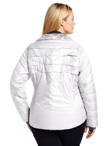 Columbia Women S Kaleidaslope Ii Jacket Plus Size White