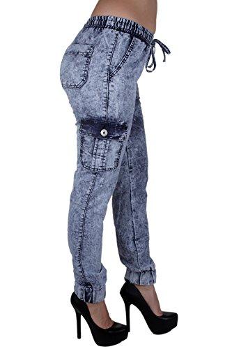 Jfp1406p Lavo Jeans Women Plus Size Cargo Stretch