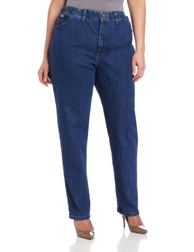 Lee Women S Plus Hidden Side Elastic Stretch Jean