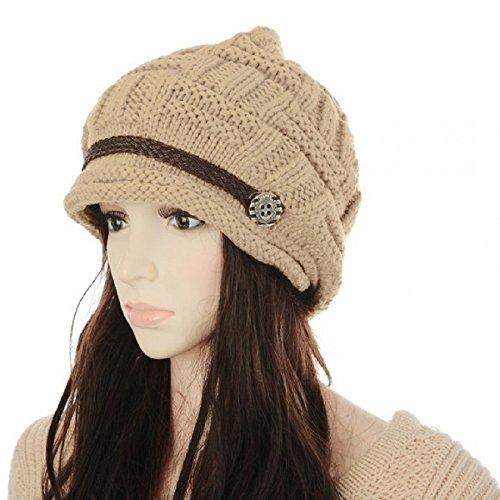 Moon Gazer Women's New Vogue Winter Berets Crochet cap ...