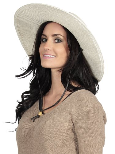 Simplicity Women S Wide Brim Sun Hat With Wind Lanyard