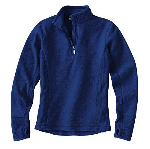 Storm Creek Women S Brita Drop Needle Micro Fleece 1 4 Zip