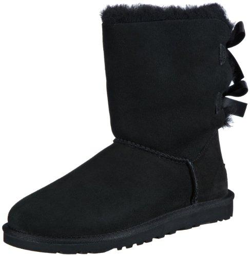 7c196b1e335 UGG Australia Womens Bailey Bow Boot Black Size 8 - Top Fashion Web