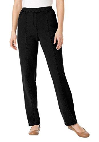 Women S Elastic Waist Jeans Tall
